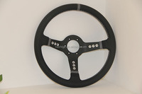 New Arrival Taiwan Universal Genuine Leather Deep Dish Racing Steering Wheels (RC-5158)