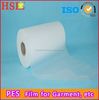 High performance PES hot melt adhesive films for fabric and garment