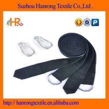 300X3.8CM Hammock Tree Straps In Black