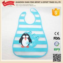 Eco-friendly Creat Pattern Design Waterproof Baby Bib