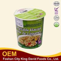 Top selling organic instant noodles vegetarian cup noodles 65g cup noodle