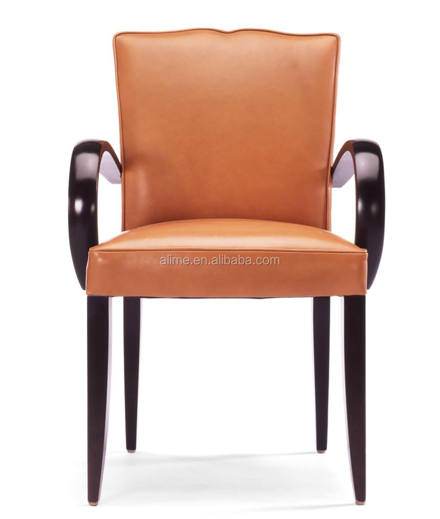 Op maat massief houten meubelen alime rood lederen moderne cafe ...