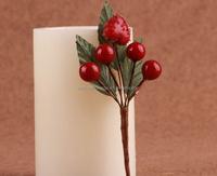 wedding decoration christmas ornament artificial christmas berries