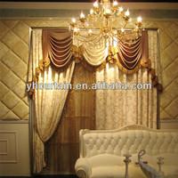 Housing style drapery curtain
