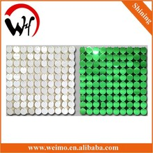 ceiling or wall sequin panel mobile shop decoration