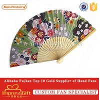 Pratical Bamboo Paper Hand Fan For Dance