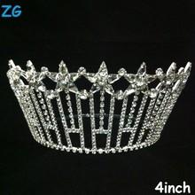 Gorgeous diamond star tiara, beauty pageant crown, crystal wedding headpiece