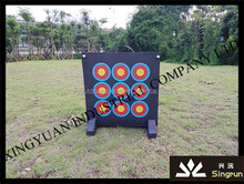 shooting equipments and accessories of portable target with nine eyes