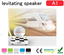 2015 Handsfree multimedia levitating bluetooth world speaker stereo with usb