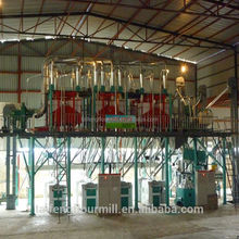 2015 China maize/corn flour processing machinery small flour mill