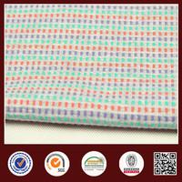 100% organic cotton jacquard knitting fabric for costume by circular knitting machine