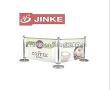 Durable Heavyweight Cafe Barrier/Advertising Display Banners