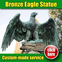 Hot selling flying Eagle Sculpture with high quality