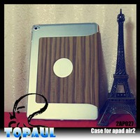purple 360 degree rotating standing portfolio leather case for 7 tablet for ipad air