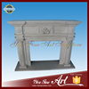 Natural Stone Carved Fireplace Mantels For Indoor Decoration