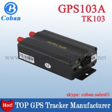 TK103A Auto Tracking Device Cheap Original GPS Car Tracker With Remote Control for Car/Trucks/Bus/Taxi mtk gps module