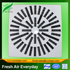 Popular high quality hvac aluminum ceiling variable swirl diffuser