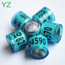 2015 Rings For Sale Poultry Plastic Bands 8mm racing pigeon rings for sale