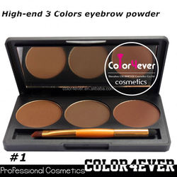 Professional eye makeup palettes 3color Makeup factory Eyeshadow&eyebrow Palette cosmetic