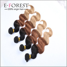 Grade 7A Brazilian Virgin Ombre Hair Weave Unprocessed Human Hair Bundles Virgin Brazillian Body Wave Aliexpress Hair