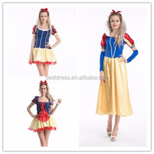 Ladies Snow White Princess Fairy Tale Costume Halloween Hens Party Fancy Dress