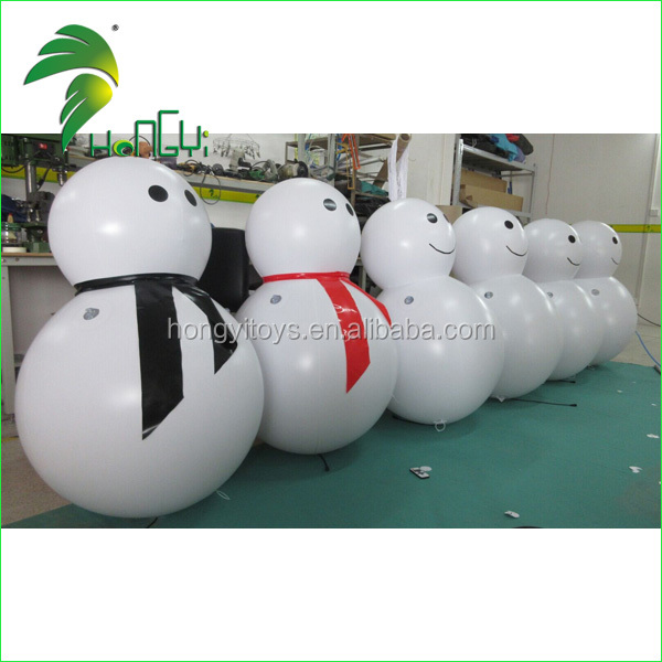 inflatable led snowman (2)