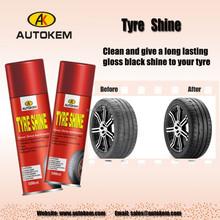 500ml Autokem Tire shine, car care products, Car Tyre shine spray, aerosol tire shine