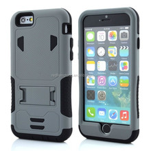 New Hybrid Silicone & PC Shell Military phone case Shockproof heavy duty Case Cover for iphone 6
