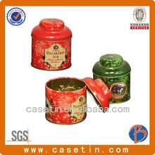 tin cans/large cookie container/pattern chinese tea tin box