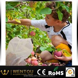 Pack Of 5 Reusable Stay Fresh Mesh Produce Bags For Fruit & Vegetables