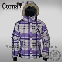 Fashionable good quality warm korea winter fashion down coat
