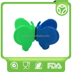 Customized hot sale silicone clip for plate