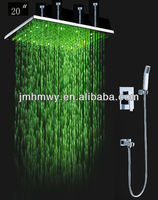 20 Inch Square Big Rain Shower,Shower Faucet,Overhead Shower