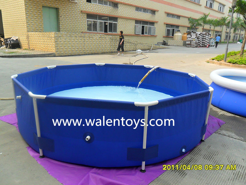 pvc swimming pool above ground swimming pool plastic fish