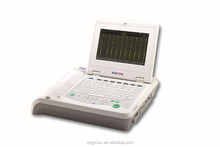best price cheap ecg machine CE&ISO certified supporting External printer on A4 paper
