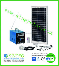 High quality competitive price solar home system/home solar electricity generation system