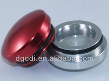 dome head threaded aluminum screw caps