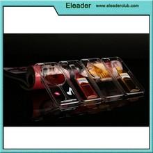 Liquid Red Wine Cocktail Beer Bottle Design Transparent PC Case for iphone 6