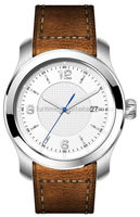 high quality leather strap classic sapphire glass watches 9015 automatic watches