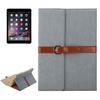 Wholesale Business Style 3 Folding PU Smart Case for iPad Air 2 with Stand