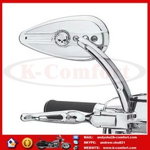 KCM449 Motorcycle chrome plated mirrors for Harley Touring, Motorcycle mirror for Harley