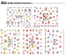 Ultra-thin nail art decals custom nail art stickers the simulation of nail art design