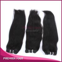 Trade Assurance Qingdao Factory Black Women Non Clip In Extensions Wholesale Virgin Brazilian Remy Hair Weaving Dubai