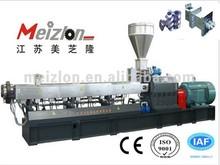 Meizlon twin/double/two screw PP PE plastic filler/filling masterbatch plastic pellete/granule pelletizer/granulator/machine