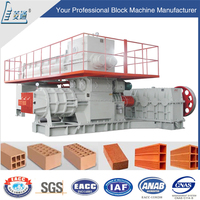 Buy thailand fully automatic soil mud clay interlocking bricks making machine