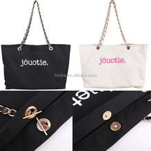 High quality wholesale travel canvas tote bag