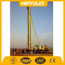 new condition pile driver of drilling rig for screw piles machine price