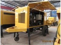trailer concrete pump machine diesel concrete pump for construction pumping machine with the capacity of 30m3/h