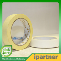 Ipartner cheap easy tear high quality textured paper tape/masking tape jumbo roll