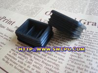 PVC square plastic plug pipe end cap/plug/insert